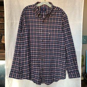 NWOT Saddlebred Button-Down Plaid Flannel Shirt